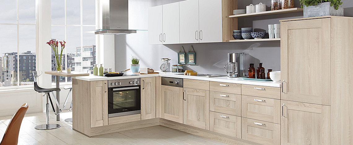 K Interiors German Kitchen Supplier Cottage Nobilia Kitchen Range