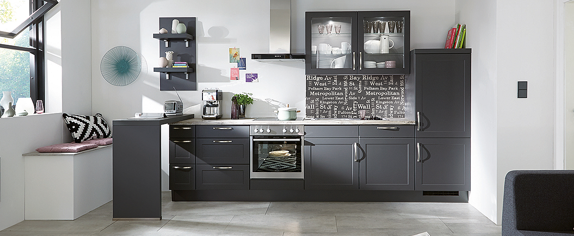 K Interiors German Kitchen Supplier Credo Nobilia Kitchen Range
