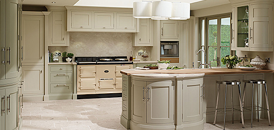 German kitchen inframe range