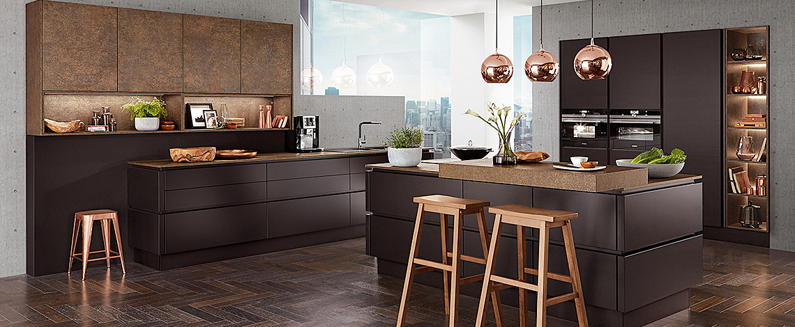 K Interiors German Kitchen Supplier Line N Nobilia Kitchen Range