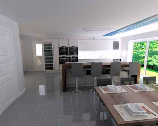 German Kitchen Installation in Harpenden