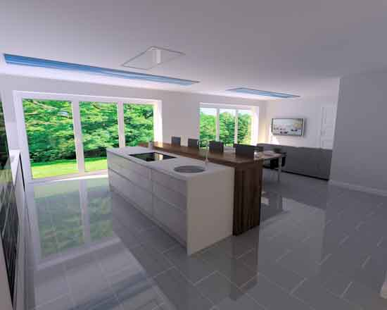 German kitchen installation in Harpenden 2