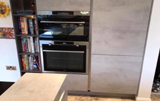 K Interiors Kitchens The Concrete Look