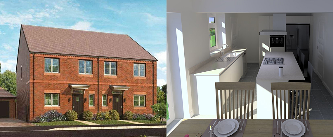 Semi Detached Render