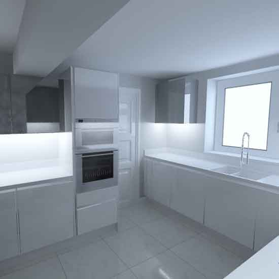 gloss white nobilia german kitchen 4